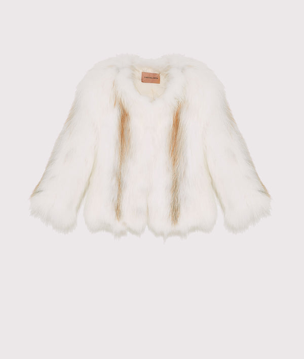 Short fox jacket