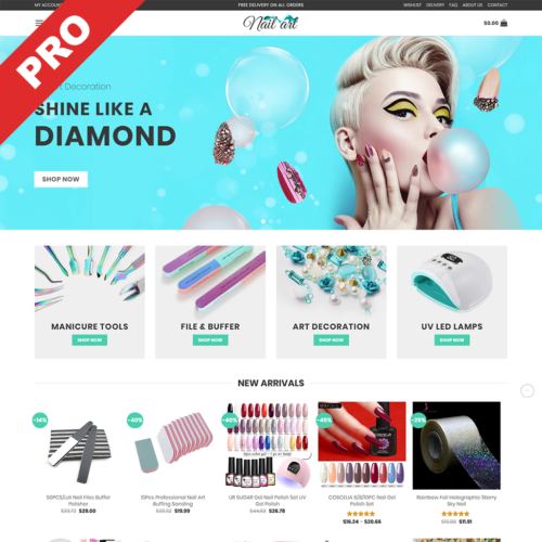 Nail Art & Manicure Dropshipping Business