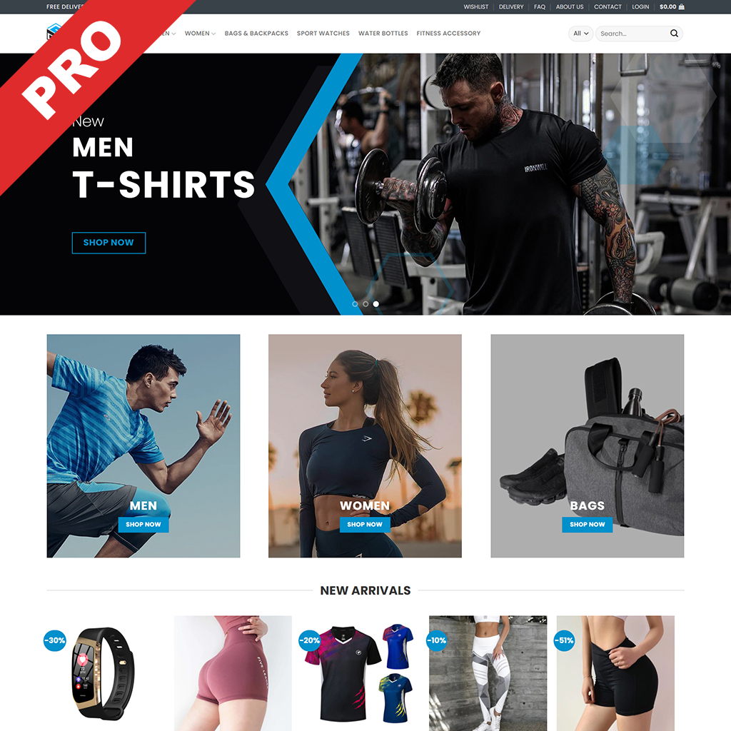 Sports and Fitness Dropshipping Business