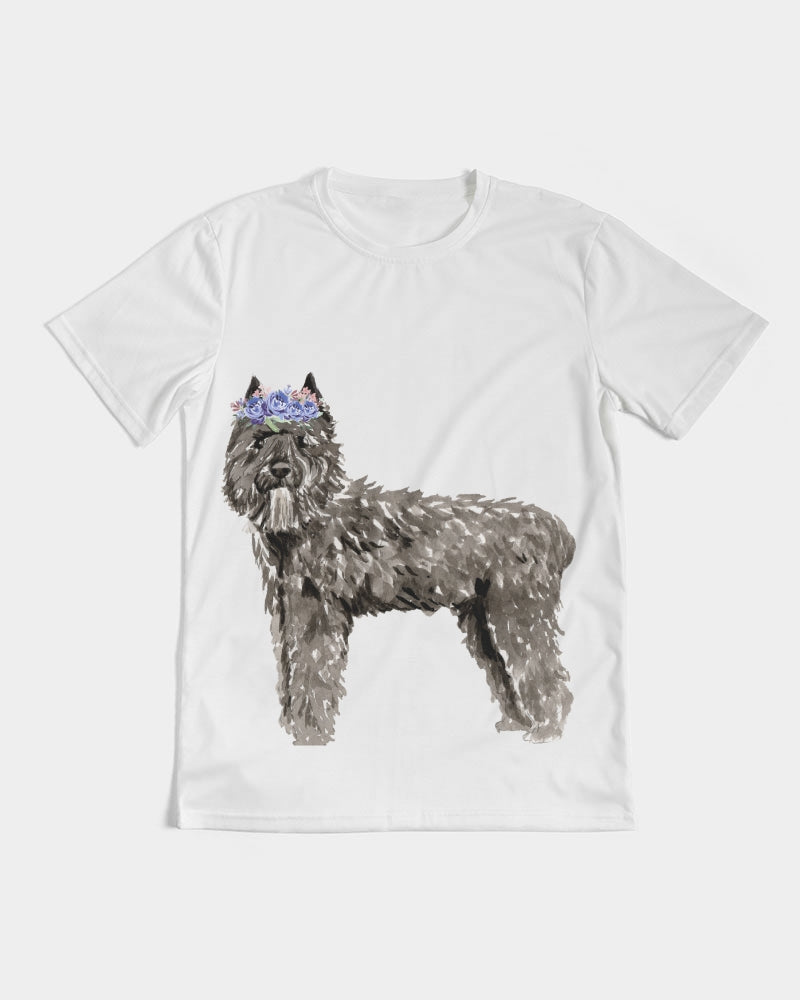 Bouvier des Flandres with Flower Crown Tee