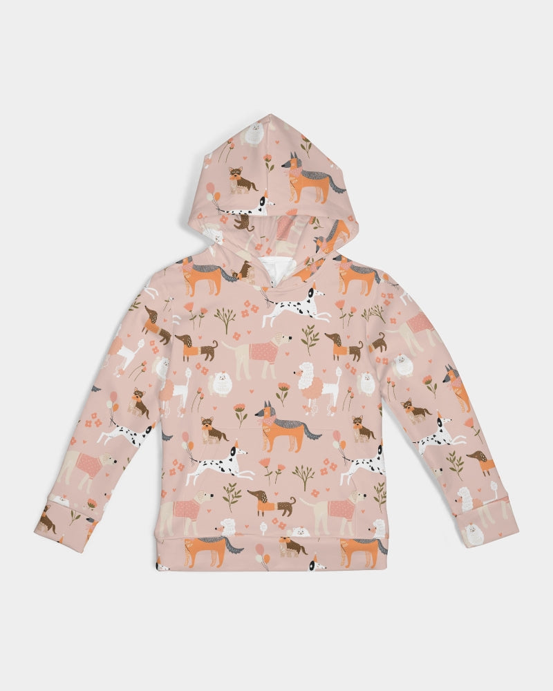 Dogs in a Park Kids Hoodie