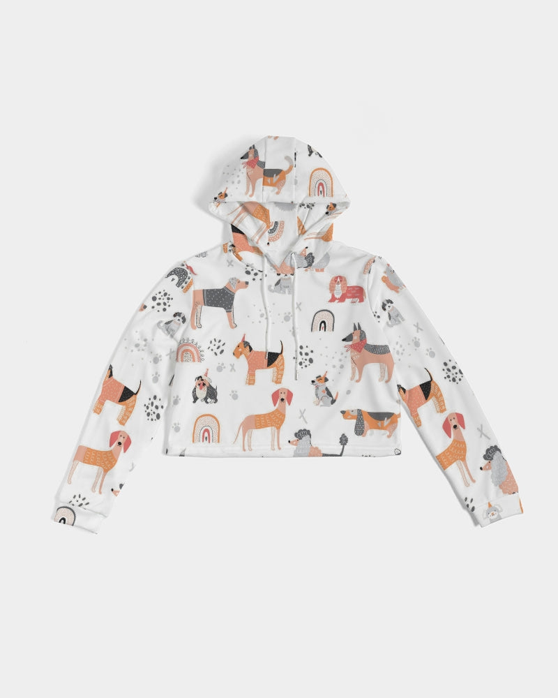 Toronto Fashion Week Women's Cropped Hoodie
