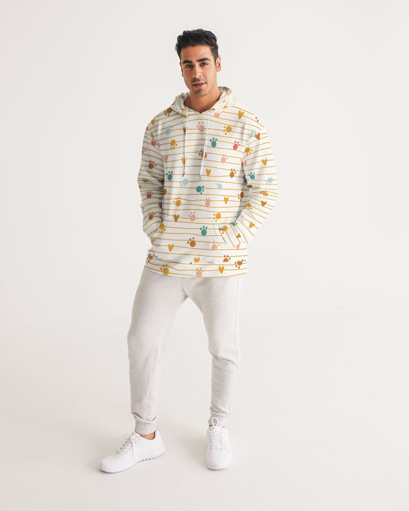 Pawsitive Thinking Men's Hoodie