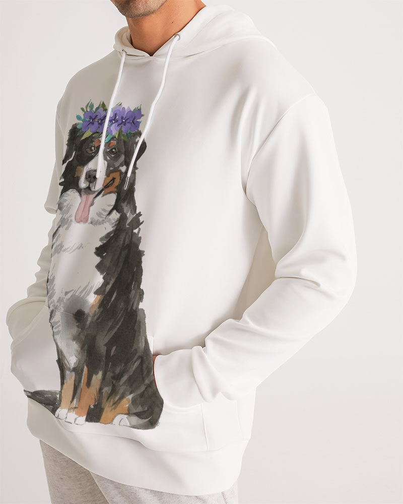 Bernese Mountain Dog with Flower Crown Hoodie