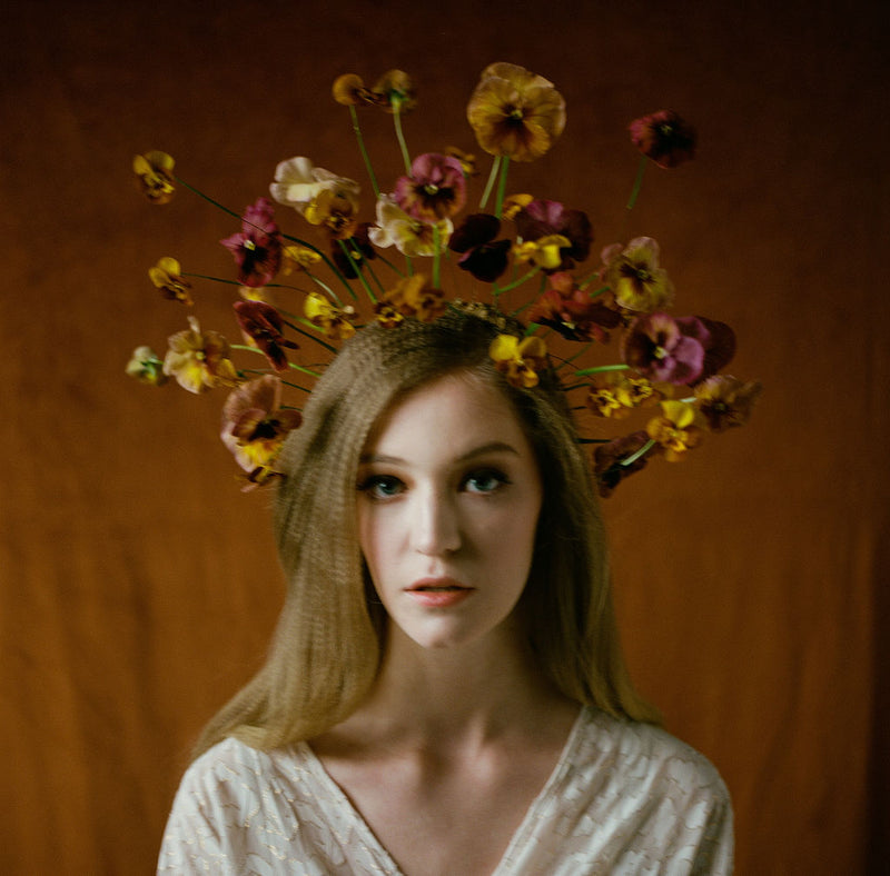 How to Make a Dried Flower Halo