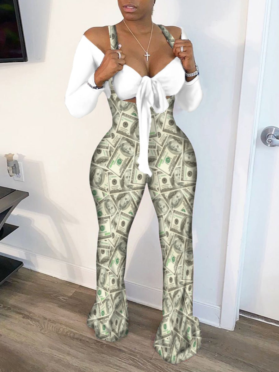 Cash Rules Everything Around Me 2 piece Stretch Outfit