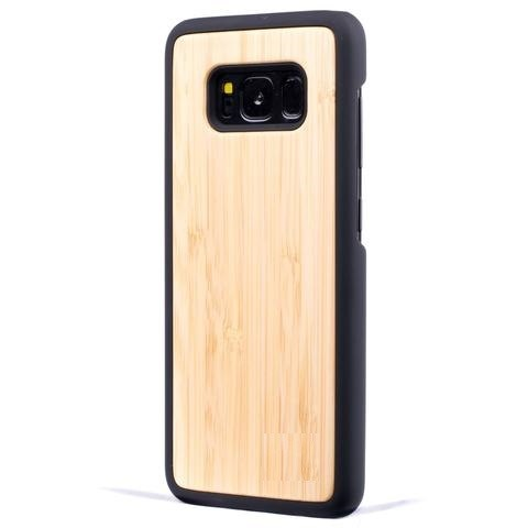 Bamboo New Classic Wood Case For Samsung S8 Plus