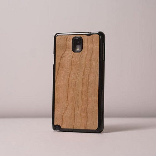 Cherry Plain Wood Case For Note 4
