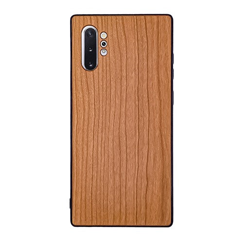 Cherry Plain Wood Case For Samsung Note 10