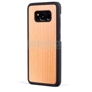 Cherry Plain Wood Case For Samsung Note 8