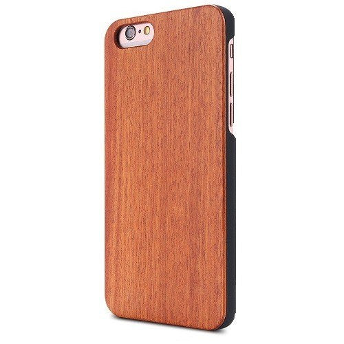 Cherry Plain Wood Case For iPhone 6 Plus - 6s Plus
