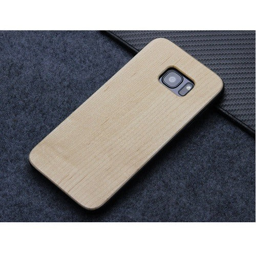 Maple Plain Wood Case For Samsung S6
