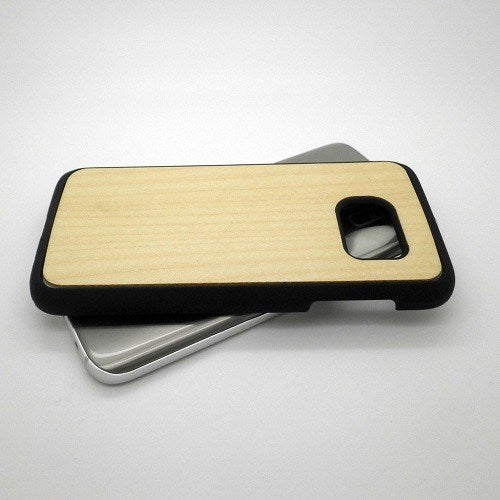 Maple Plain Wood Case For Samsung S7