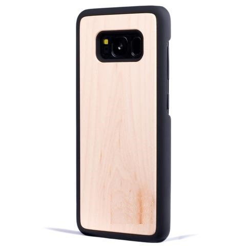 Maple Plain Wood Case For Samsung S9