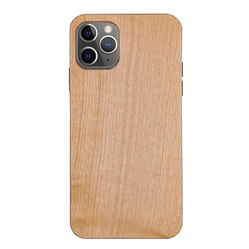 Maple Plain Wood Case For iPhone 11 Pro Max 6.5″