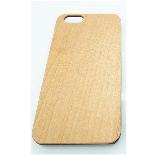 Maple Plain Wood Case For iPhone 5-5S-SE