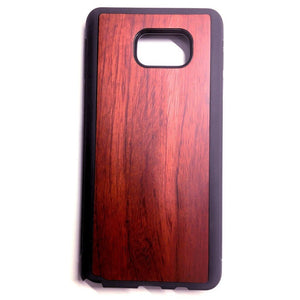 Rosewood New Classic Wood Case For Samsung S6