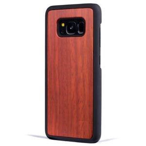 Rosewood New Classic Wood Case For Samsung S8