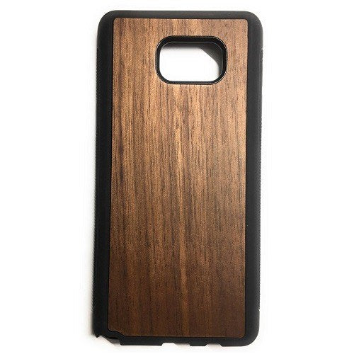 Walnut New Classic Wood Case For Samsung S6