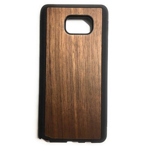 Walnut New Classic Wood Case For Samsung S7 Edge