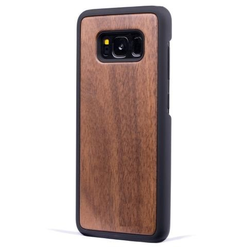 Walnut New Classic Wood Case For Samsung S8