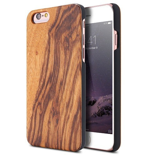 Zebra Classic Wood Case For iPhone 6-6s