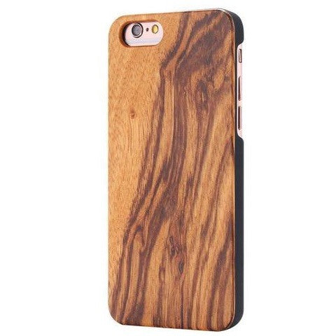 Zebra Classic Wood Case For iPhone 5-5S-SE