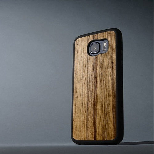 Zebra New Classic Wood Case For Samsung S7