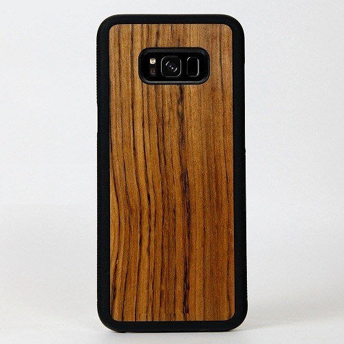 Zebra New Classic Wood Case For Samsung S8 Plus