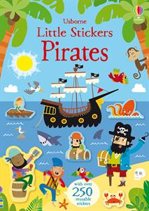 Little Sticker Books - Pirates