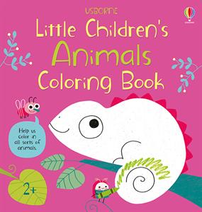 Little Children's Animals Coloring Book