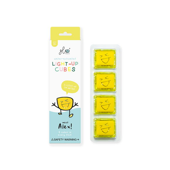 Glo Pals Yellow Cubes - Alex