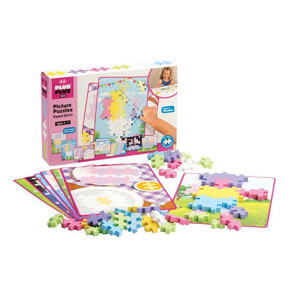 Plus Plus BIG Picture Puzzles - Pastel