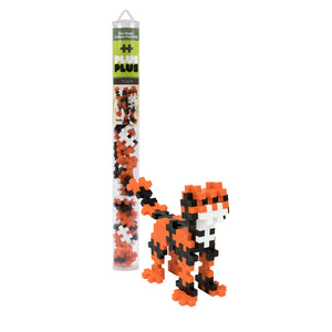 Plus Plus Mini Maker Tube - Tiger
