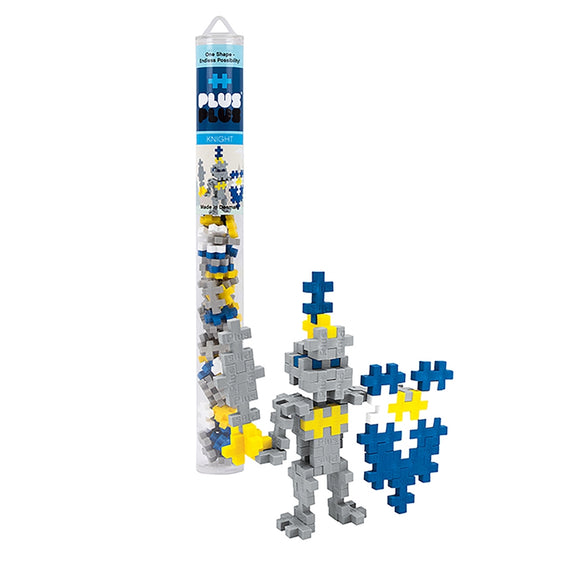 Plus Plus Mini Maker Tube - Knight