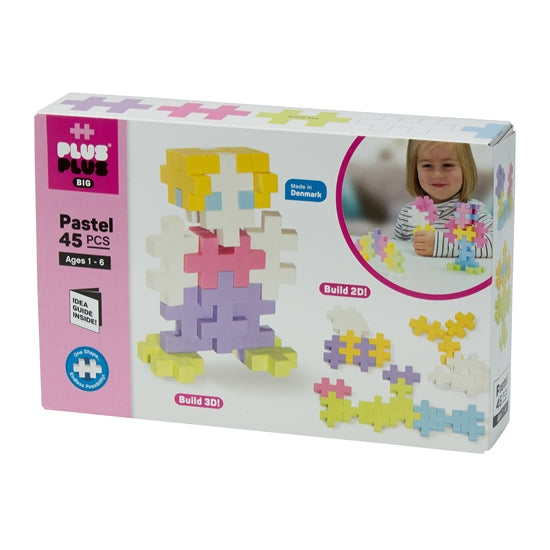 Plus Plus BIG 45pc Pastel Mix
