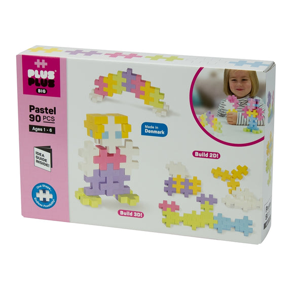Plus Plus BIG 90pc Set - Pastel