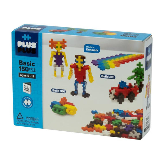 Plus Plus 150pc Open Play Mix - Basic