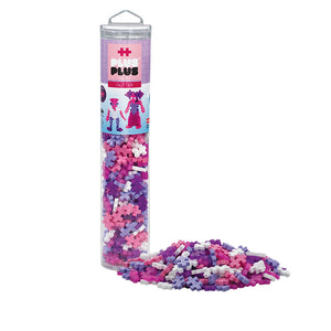 Plus Plus Open Play Tube 240pc Glitter Mix