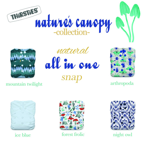 Thirsties Natural One-Size AIO Bundle - Nature's Canopy