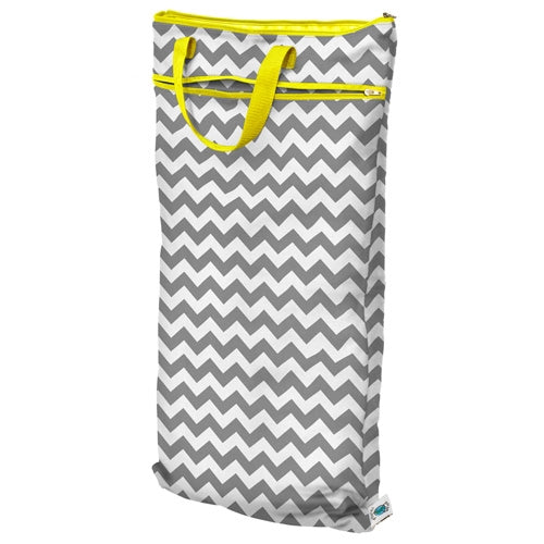 Planet Wise Large Wet/Dry Bag - Gray Chevron
