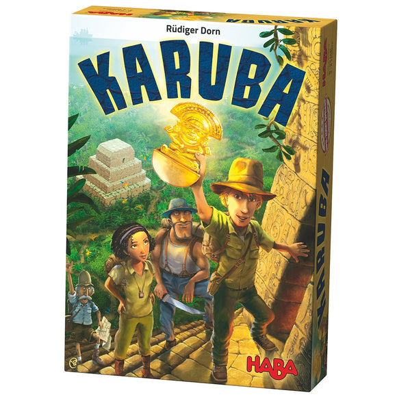 HABA Karuba - Tile Laying Puzzle Game
