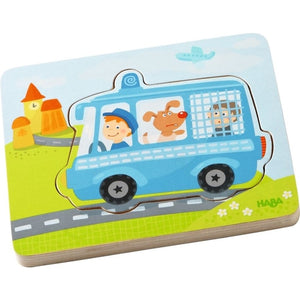 HABA Wooden Puzzle - Emergency Call