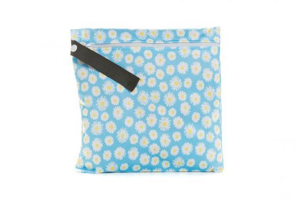 Buttons Diapers Small Wet Bag -  Bloom
