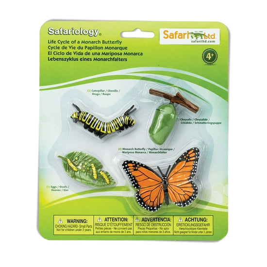 Safari Ltd. - Life Cycle of a Monarch Butterfly