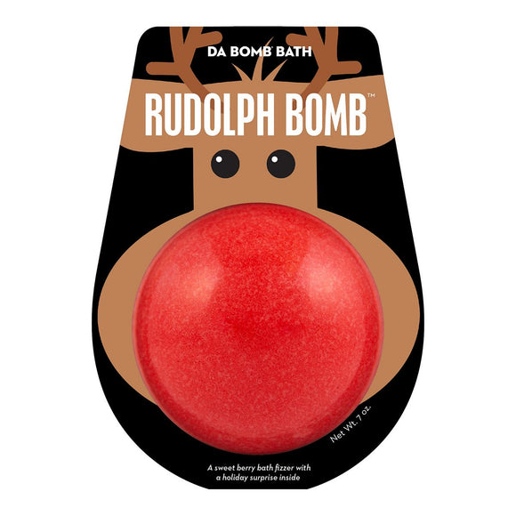 da Bomb Color Rudolph Bath Bomb