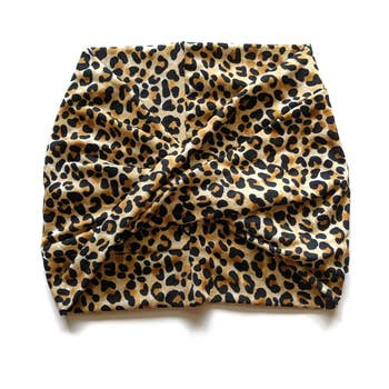 Crunchy Love Co. Twist Headband - Leopard