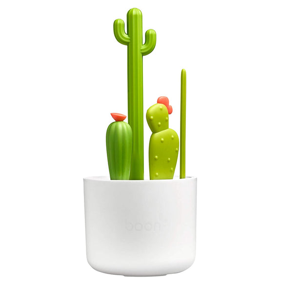 Boon Cacti Brush Set - Green/White