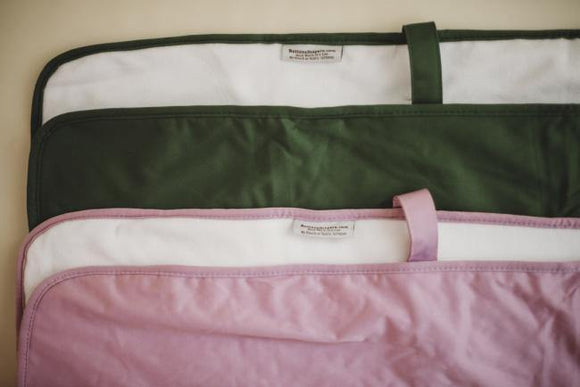 Buttons Diapers Changing Mat - Rose