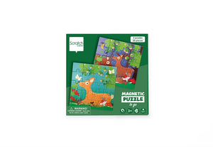Scratch Europe - Magnetic Puzzle Book To Go - Forest